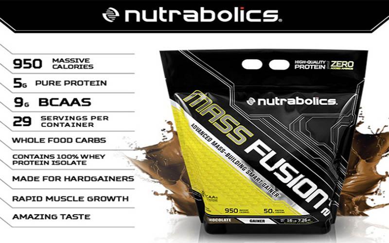 Thành phần dinh dưỡng của Mass Fusion