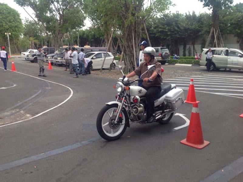 Trung tâm đào tạo bằng lái xe máy tại TPHCM