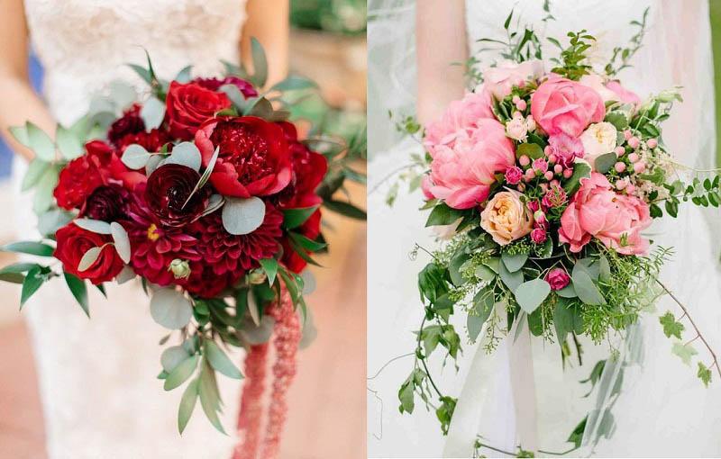 Hoa cưới giúp cô dâu xinh đẹp, lộng lẫy hơn