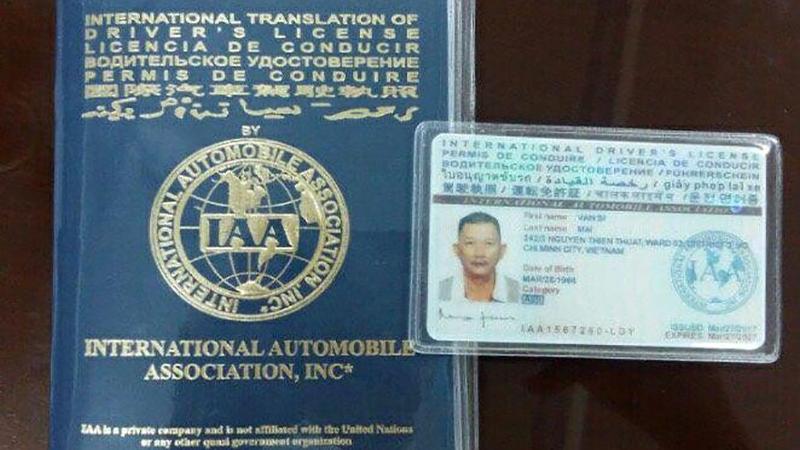 Bằng lái xe quốc tế là gì?