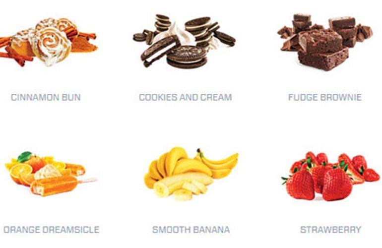 ISO100 có những hương vị
