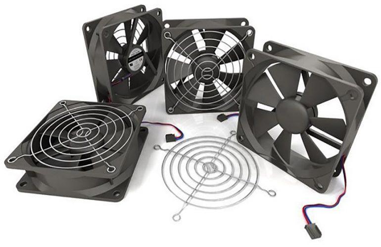 Tản nhiệt máy chủ dùng quạt cơ