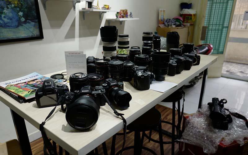 Dịch vụ thu mua máy ảnh cũ đã qua sử dụng giá cao