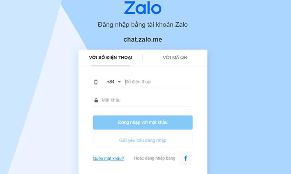 Đăng nhập vào Zalo trên máy tính