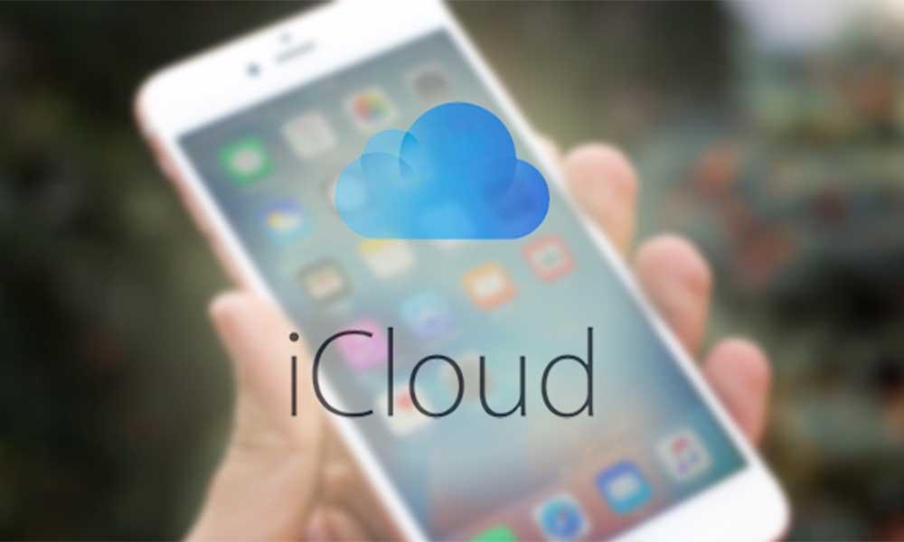 Khôi phục dữ liệu từ bản sao lưu của iCloud